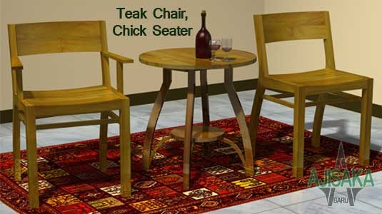 100% Reclaimed Teak Chair